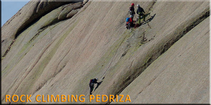 Guided Climb Pedriza